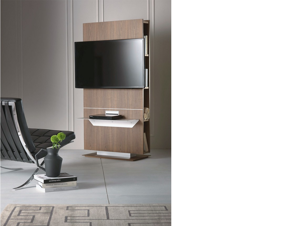 Lounge | porta tv girevole | pacini e cappellini