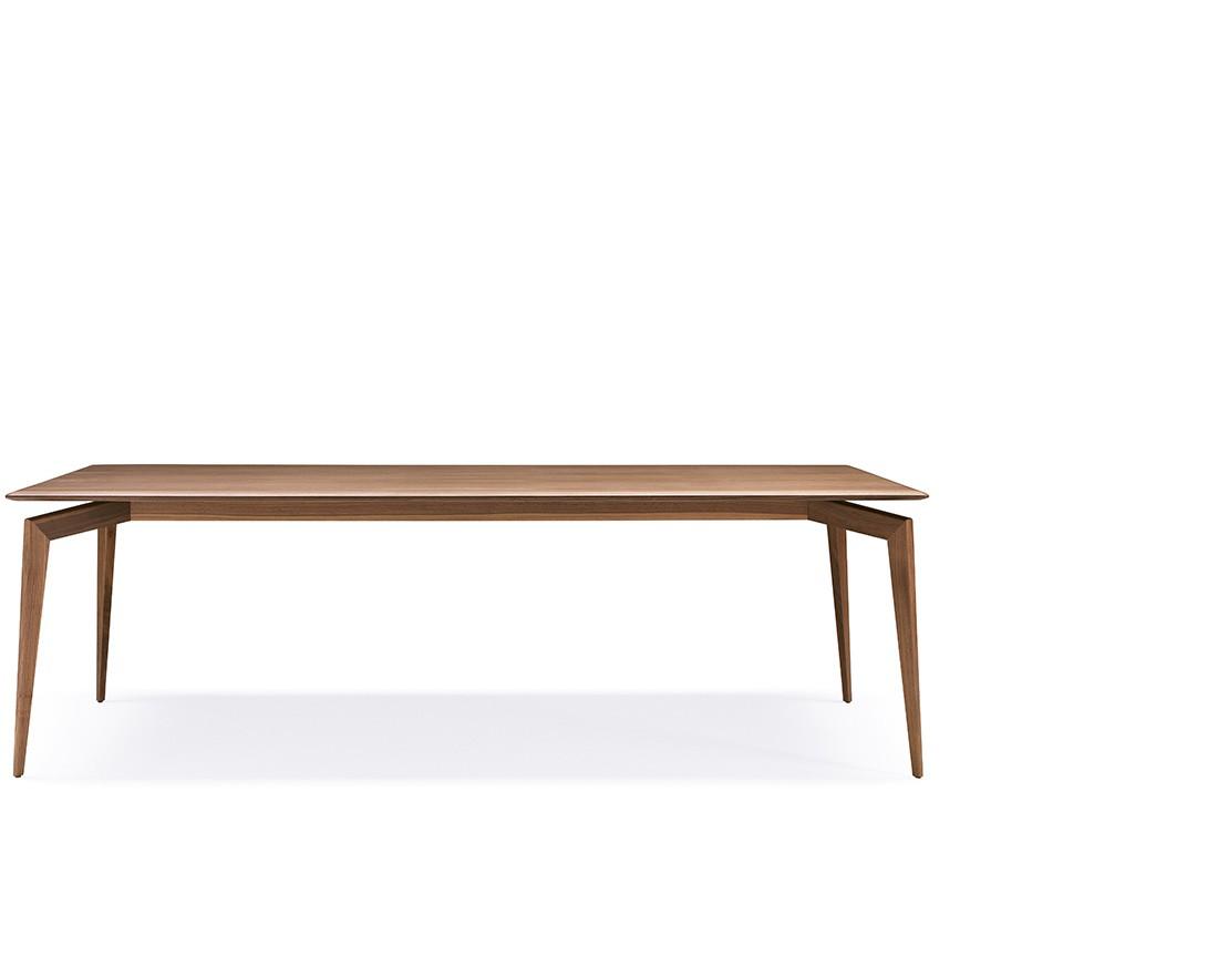Hope: Tavolo da pranzo piano legno rettangolare | Hope: Rectangular wooden top dining table