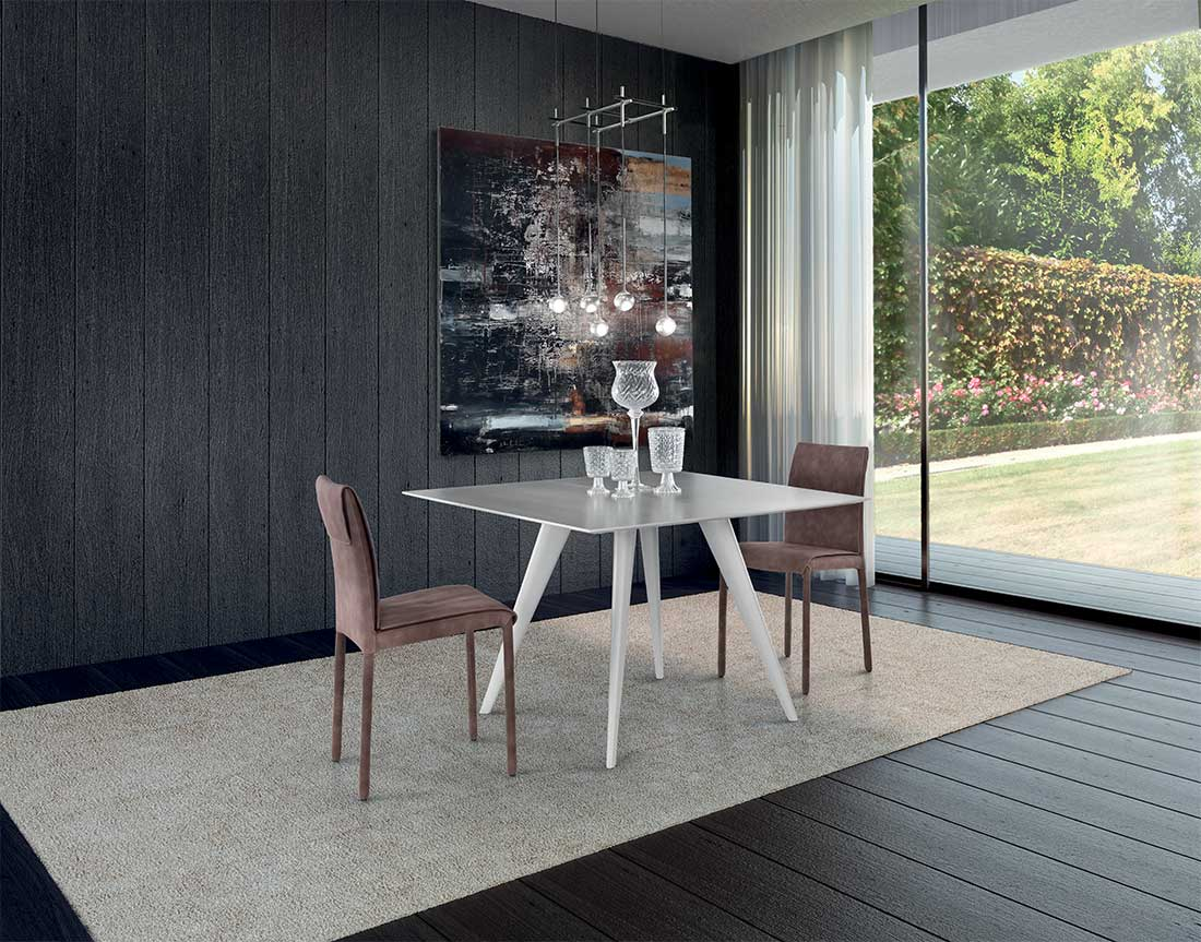tavolo elegance allungabile in ambiente moderno