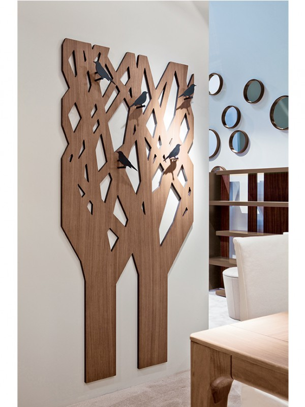 l'albero, appendiabiti pacini e cappellini
