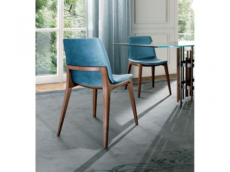 Ellen sedia rivestimento tessuto in ambiente moderno   Ellen fabric upholstery chair in a modern setting
