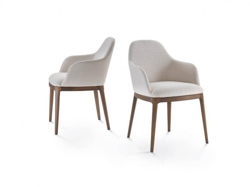 Becky: Poltroncina imbottita Becky Made in Italy | Becky: Becky padded chair Made in Italy