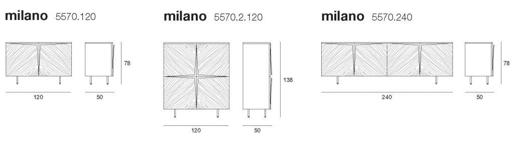disegno tecnico madia milano