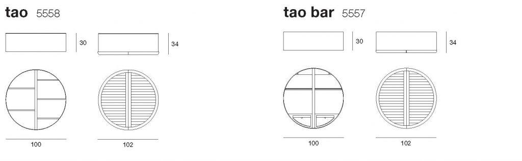 disegno tecnico Tao