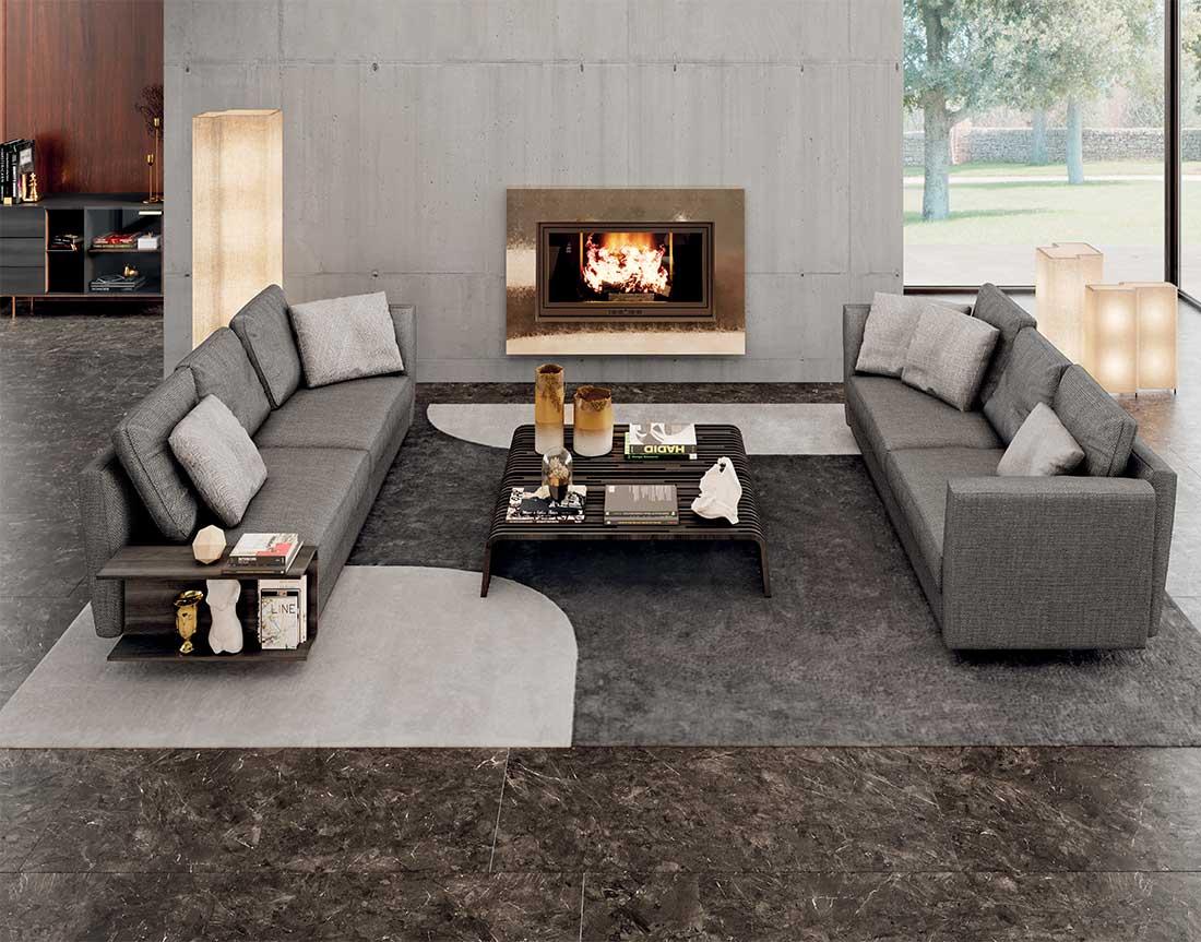 Ester: Divani imbottiti in ambiente | Ester: Upholstered sofas in the room